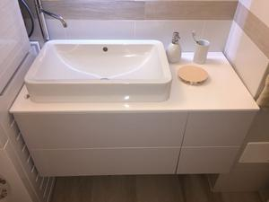 Moderno mobile sospeso arredo bagno