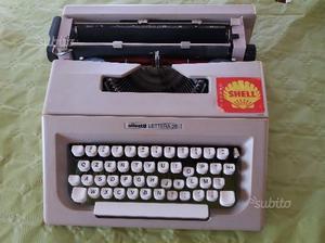 Olivetti lettera 25 macchina da scrivere vintage