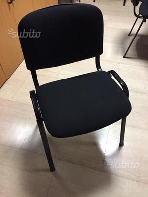 30 sedie da ufficio impilabile