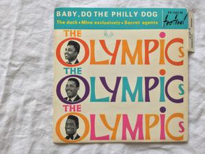 45 giri The Olympics / baby, do the philly dog