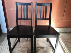 6 sedie ikea genova posot class - Sedie in legno ikea ...