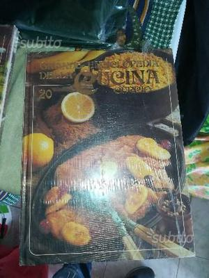 Grande enciclopedia della cucina curcio 24 volumi