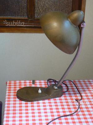 Lampada da tavolo ministeriale vintage anni 60