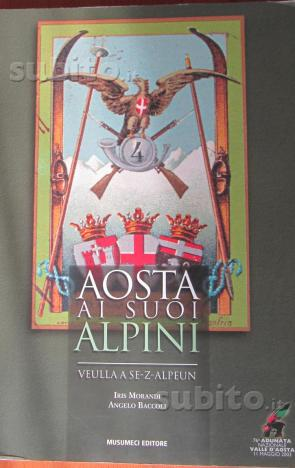 Libro: Aosta ai suoi Alpini- ediz.