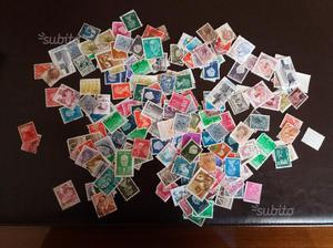 Lotto di francobolli italiani e mondiali