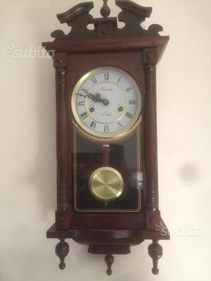Orologio a pendolo legno massello come nuovo