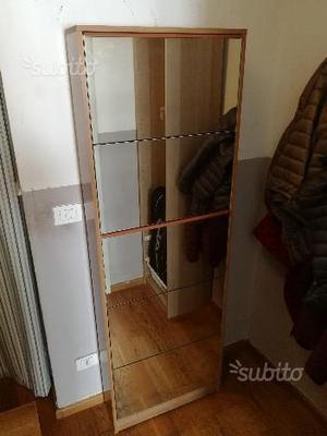 Scarpiera a muro posot class - Scarpiera specchio anta unica ...