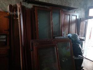 Serramenti legno massello doppi vetri infissi port