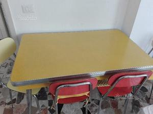 Tavolo Formica Giallo : Tavolo formica giallo posot class