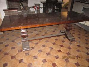 tavolo legno massiccio +12 sedie
