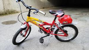 "Bici Bimbo 16"" pollici 4/6 anni"