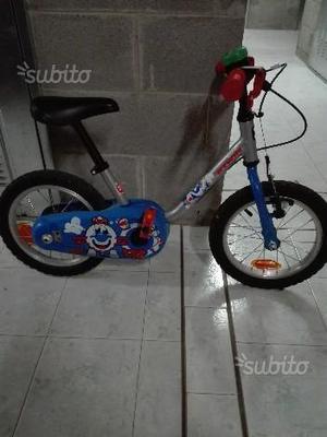 Bicicletta bimbo 3-5 anni B'Twin 14' usata
