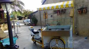 Bicicletta gelati con pedalata assistita