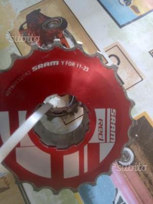Cassetta sram red 10v