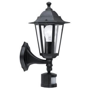 EGLO Luce da Parete Esterna con Sensore Laterna 4 60 W Nero