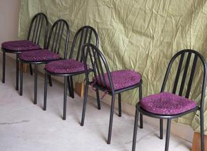 N5 sedie di design acciaoi cuscino alcantara