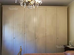 Armadio laccato avorio posot class - Camera da letto stile veneziano ...
