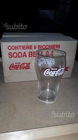 Bicchieri coca cola 6