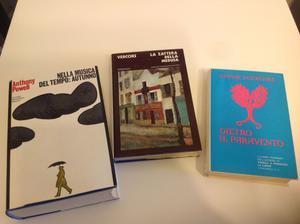 Lotto 3 libri romanzo Arnoldo Mondadori e Longanesi