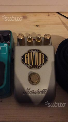 PEDALE OVERDRIVE MARSHALL GUV'NOR GV2 Plus