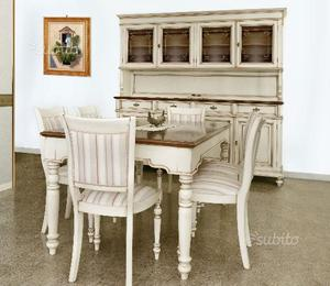 Credenza taverna stile country agrigento posot class for Sala pranzo country