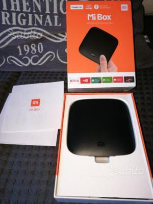 Box tv xiaomi mi box Android nuovo imballato