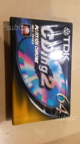Cassette audio vergini euro 0,80 cent