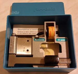 Giuntatrice a nastro ferrania 8mm./super8 nuova