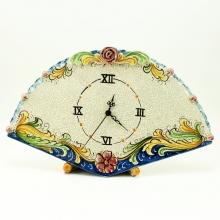 Orologio Ventaglio Ceramica