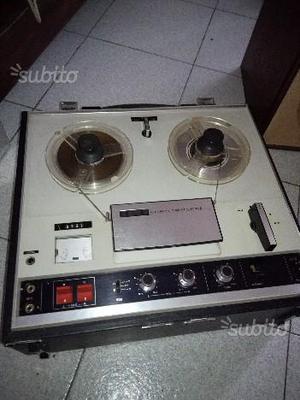 Reel to Reel Sony TC 252 Registratore a Bobine