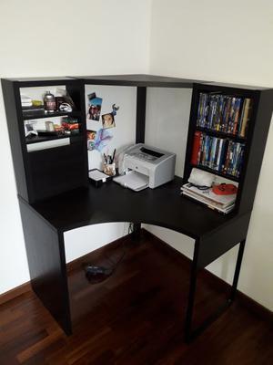 Libreria Scrivania Angolare Mensola Ikea Posot Class