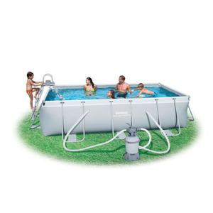Piscina bestway 488x274x122h con pompa a sabbia posot class - Focos piscina leroy merlin ...