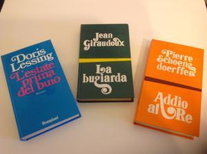 Lotto 3 libri genere romanzo Bompiani