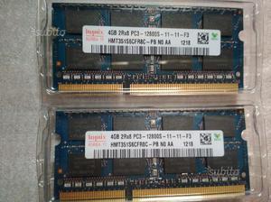 Memoria Ram Sodimm 4GB (x2)