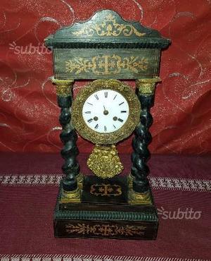 Antico Orologio a pendolo Napoleone III epoca
