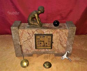 Antico Orologio a pendolo decò epoca '