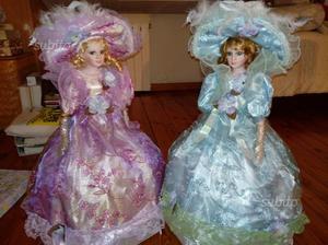 Coppia bambole da collezione