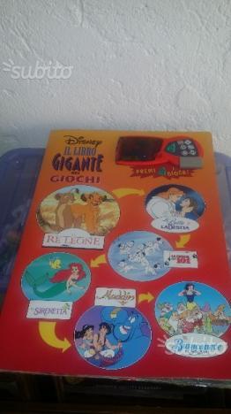 Il libro gigante dei giochi Disney