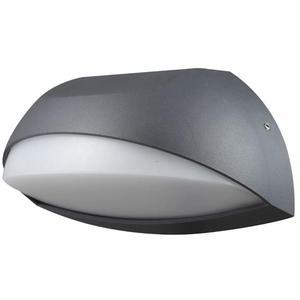 Luxform Luce da parete a LED Lione Antracite e Bianco