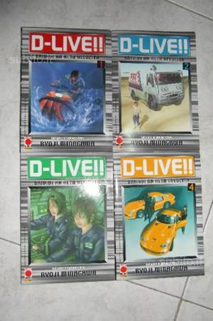 Manga D Live 1/4Prima Edizione Planet Manga