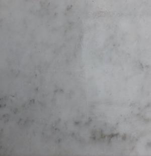 Marmette in marmo bianco Carrara tipo CD formato cm. 30x30