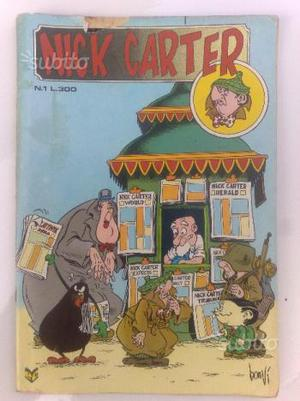 Nick Carter n.1 Edizioni Cenisio