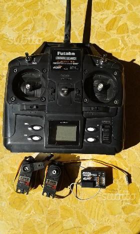 Radiocomando Futaba 3ch Servi HiTech 12Kg