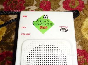 Rara radio GRAN CAMPIONE gadget dixan anni 80