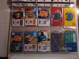 Schede telefoniche tim-telecom collezione