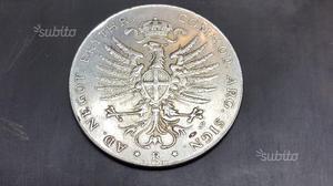 Tallero Regnum Italicum  colonia Eritrea V. E