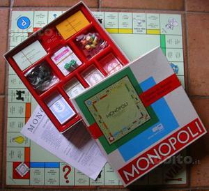 Gioco monopoli in lire vintage vecchio tipo posot class - Monopoli gioco da tavolo ...