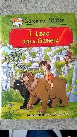 G.stilton - il libro della giungla