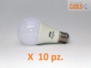 SET DA 10 LAMPADINE LED 8W - 60W WIVA EK LUCE FREDDA