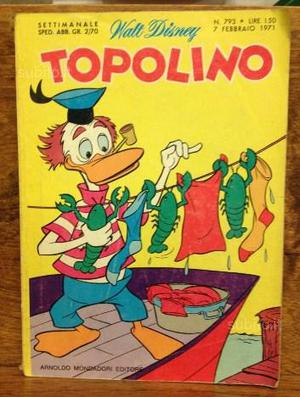 Topolino Walt Disney febbraio  n 793